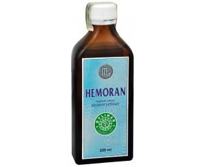 Bylinář Hemoran 200 ml