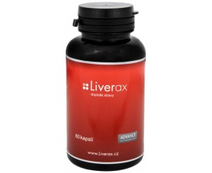Advance nutraceutics Liverax 60 kapslí